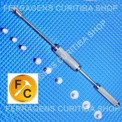 Repuxadeira P/ Martelinho Ouro + 9 Ventosas  Ultra Slim  Top